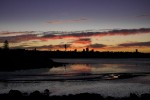 hobson bay sunset 2