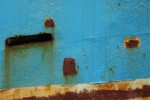 rusty boat hull