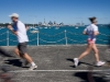Exercise on Tamaki Drive, Auckland